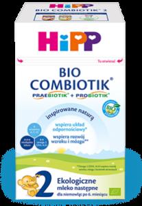 mleko modyfikowane HiPP Combiotik 2